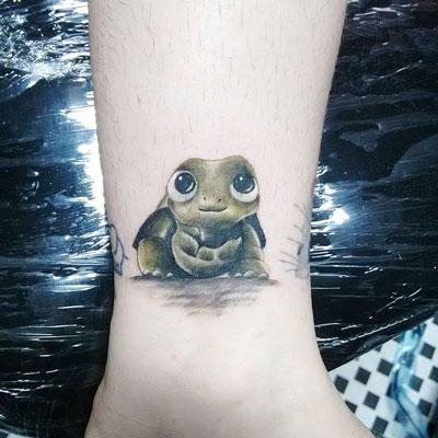 tatuaje tortuga iustracion
