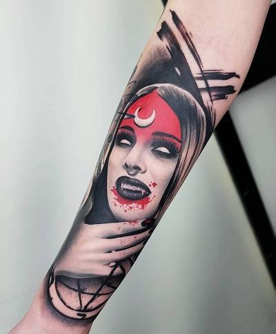 vampiro tattoo