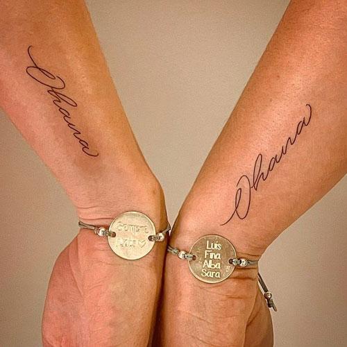tatuaje ohana