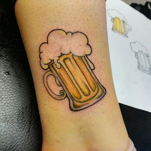 Tatuaje de Cerveza