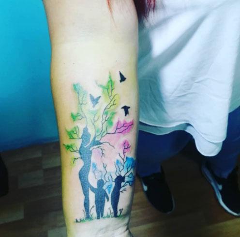 family 4 tattoo