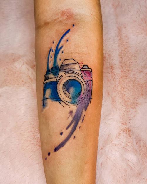 tattoo aquacolor camara