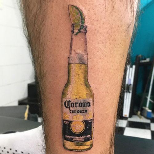 tattoo cerveza corona