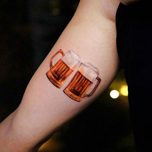 tattoo cervezas