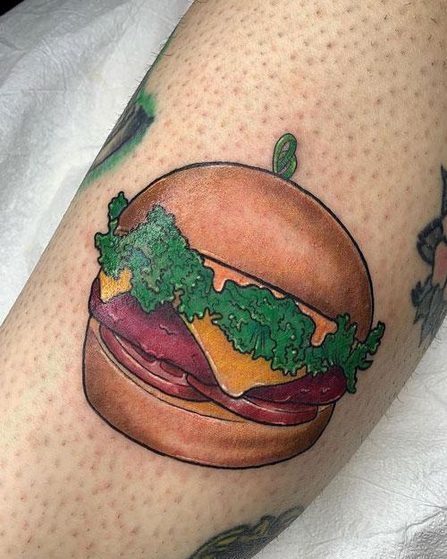 Tatuajes de Hamburguesa