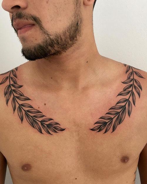 tattoo hoja de laurel