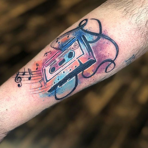 tatuaje aquacolor cassette