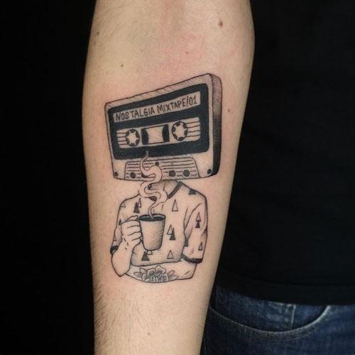 tatuaje cinta tape