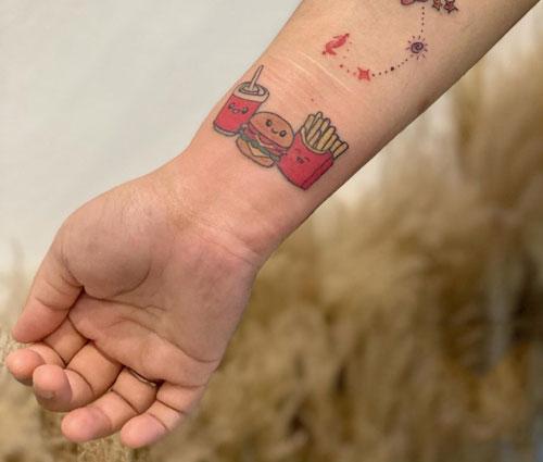 tatuaje combo burger