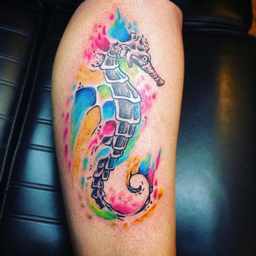 Tatuaje del Caballito de Mar