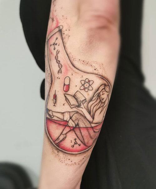 Tatuajes de Formulas Quimicas