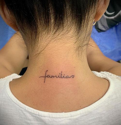 tatuaje familia pequeño