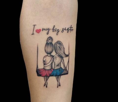 tatuaje hermanas