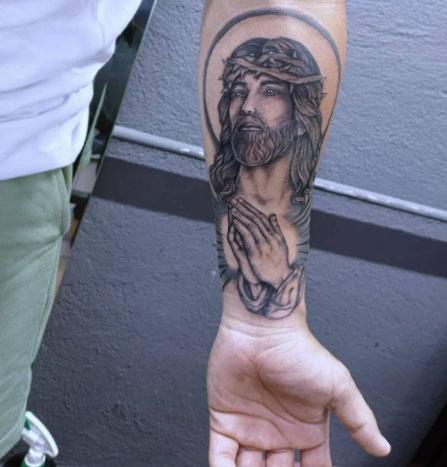 Jesucristo tattoo