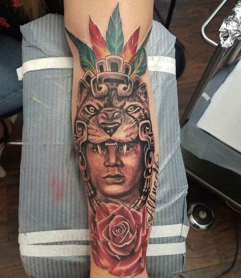 guerrero jaguar tattoo