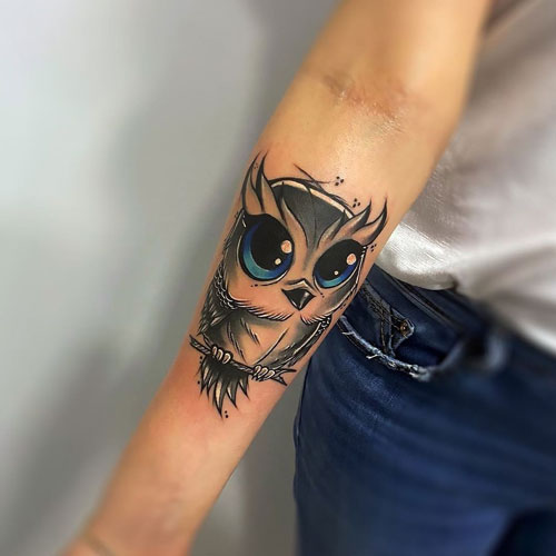 imagen tatuaje de buho