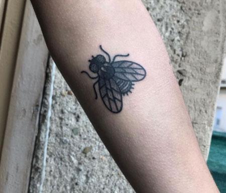 mosca tattoo