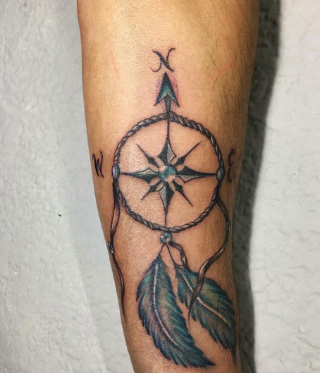 tattoo atrapa sueños