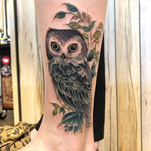tattoo de buho