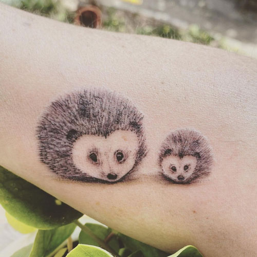 tattoo erizo