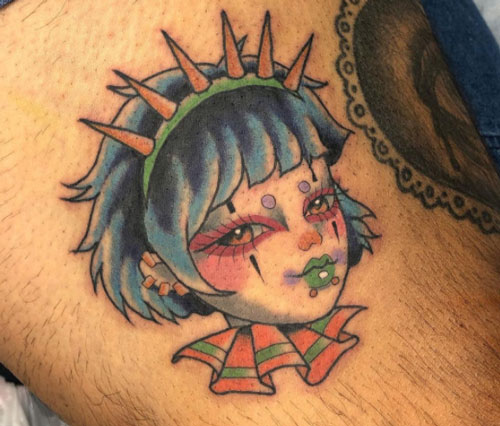 tattoo payasita color