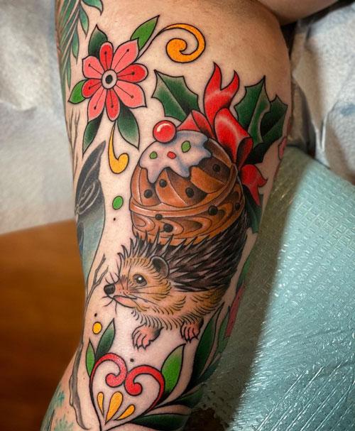 tatuaje cuento de navidad