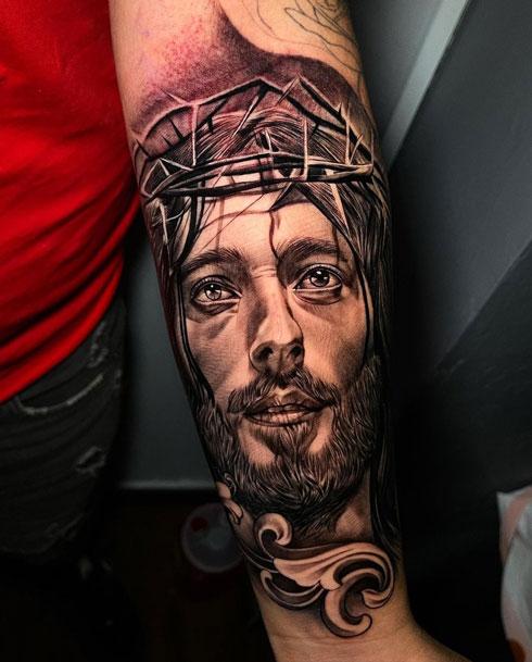 tatuaje de jususcristo