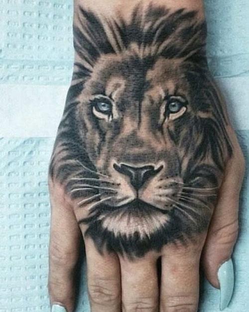tatuaje de leones
