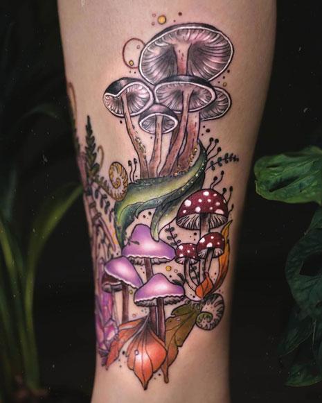 tatuaje de setas