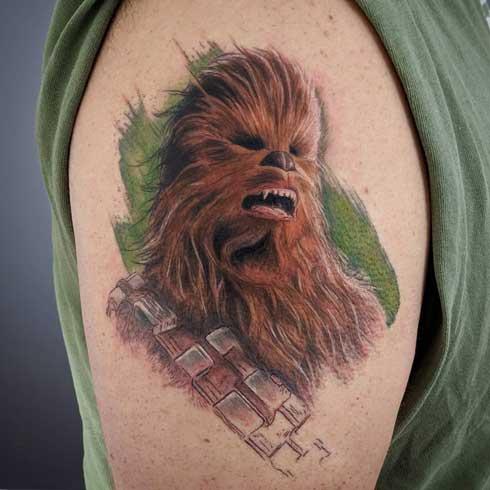 Chewbacca tatuaje