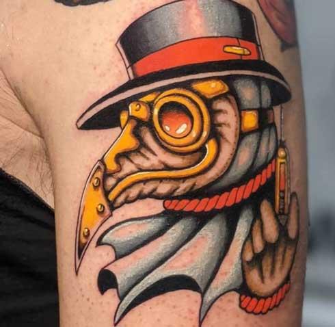 Dr plaga tattoo