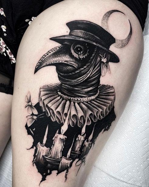 Peste Negra tattoo