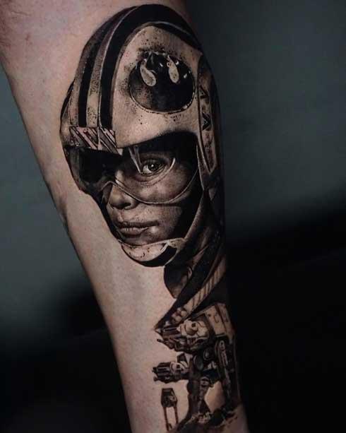 Skywalker tattoo