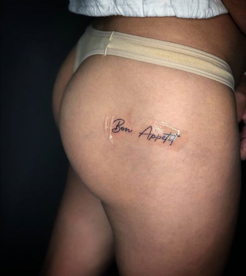 buen provecho tattoo