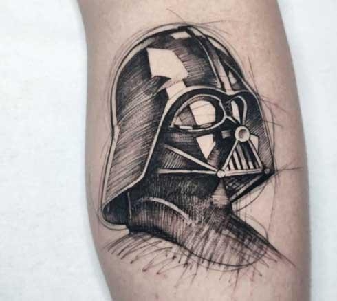 idea de tatoo dart vader