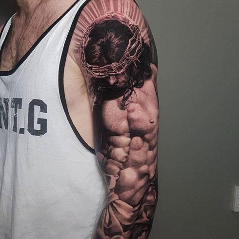 jesus tatuaje
