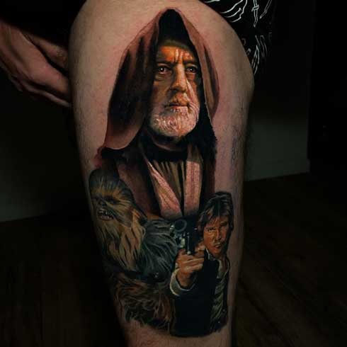 maestro jedi tattoo