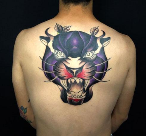 pantera negra tattoo