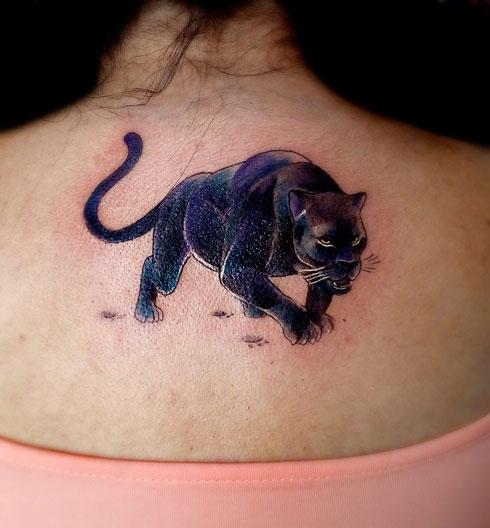 panther tatuaje