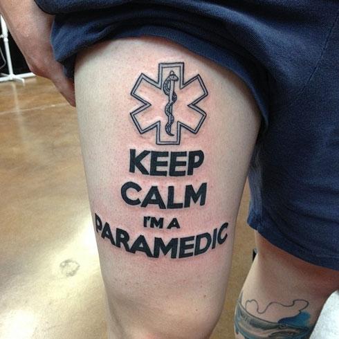 paramedic tattoo