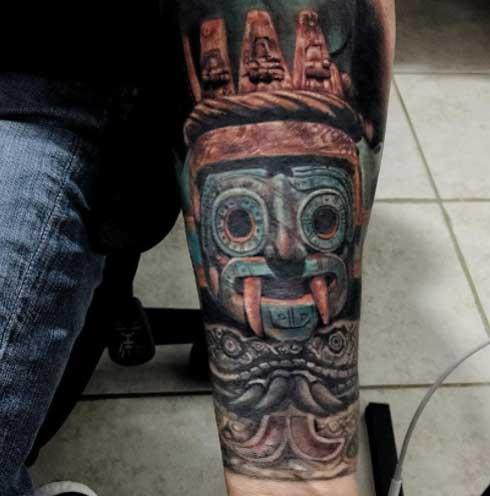 realismo tattoo tlaloc