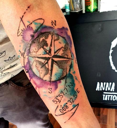 splash color tatuaje