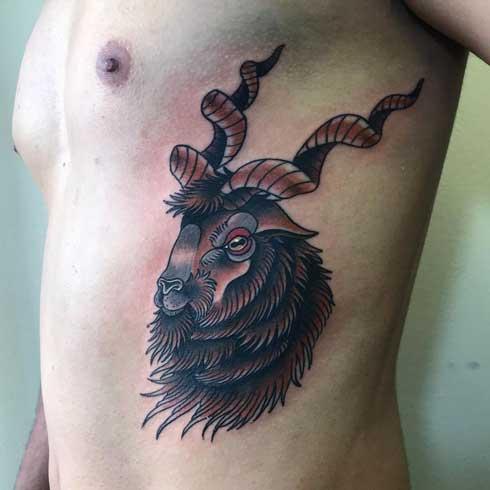 tattoo cabra