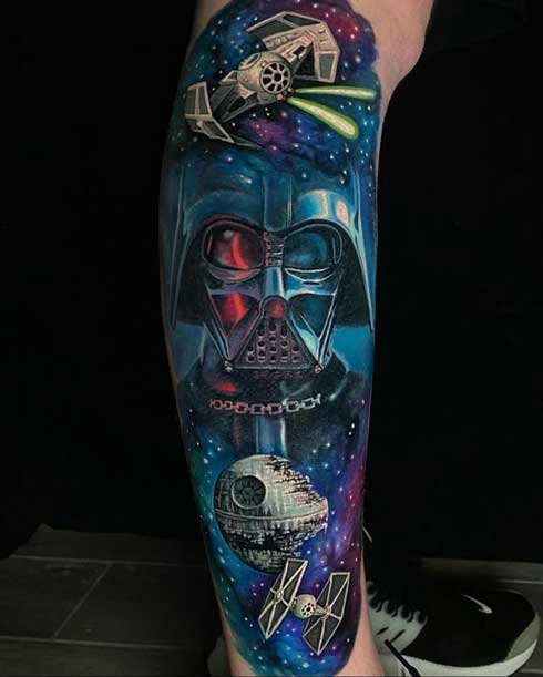 tattoo color de starwars