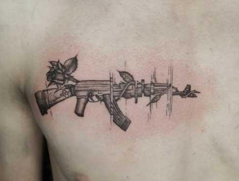 tattoo ak47