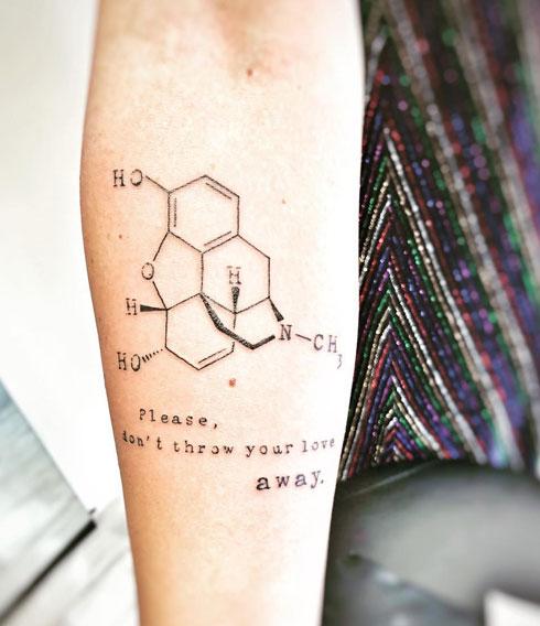tattoo formula endorfina