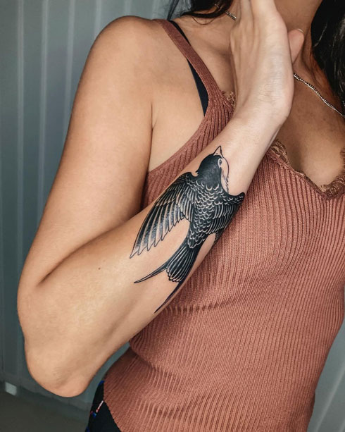 tattoo gaviota