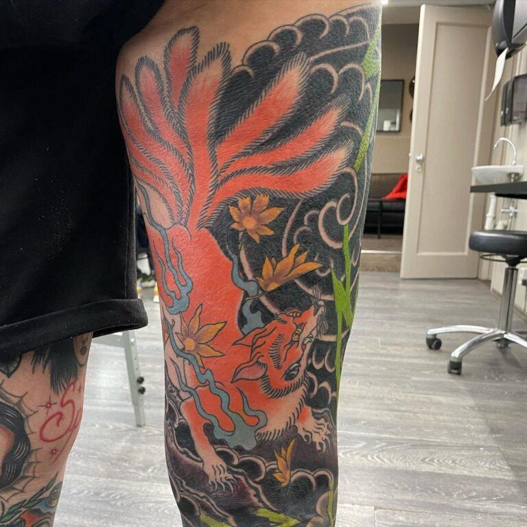 tattoo japones zorro