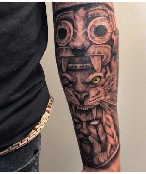 tattoo totem tlaloc