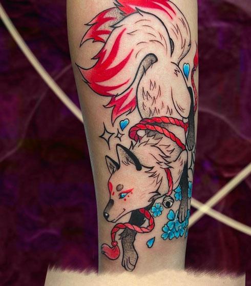 tattoo zorro chino